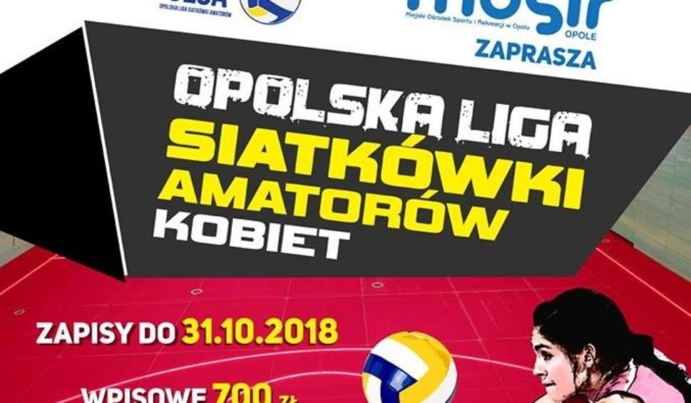 Film do artykułu: Opolska Liga Siatkówki Amatorów przyjmuje też drużyny żeńskie!