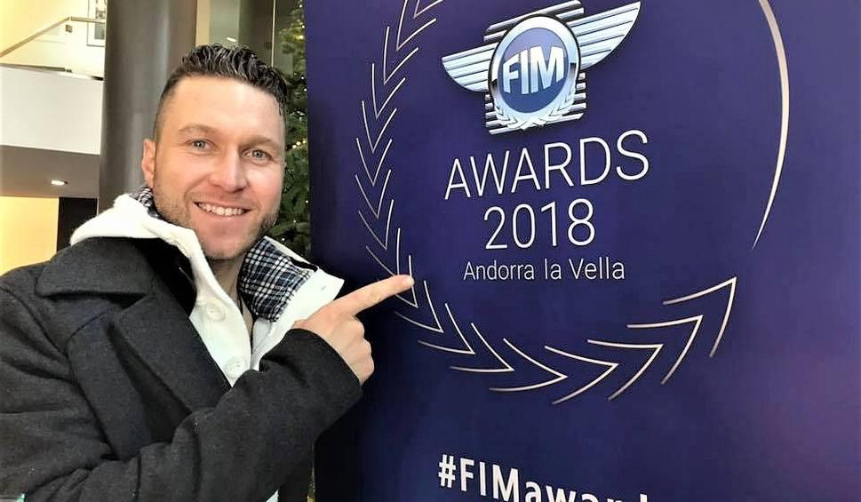 Film do artykułu: Żużlowiec Falubazu - Martin Smolinski - uhonorowany na gali motocyklowych mistrzów świata