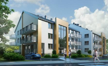 Nowe bloki powstają przy ulicy Kusocińskiego w Busku - Zdroju. Oto wizualizacje budynków.