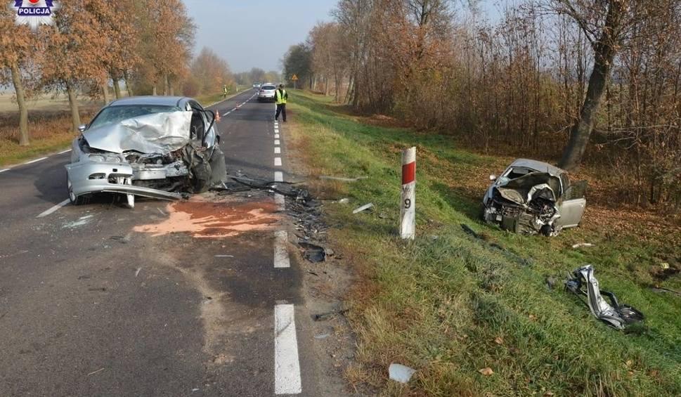 Film do artykułu: Wypadek w Sajczycach. Czołowe zderzenie samochodów podczas wyprzedzania