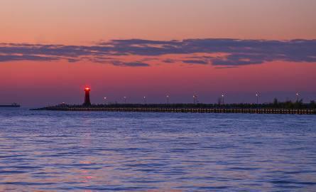 Pastelowy zachód słońca nad morzem. Takie kolory tylko w Trójmieście! Zdjęcia