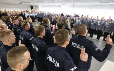 Wszędzie brakuje policjantów. Ale nie w naszym garnizonie