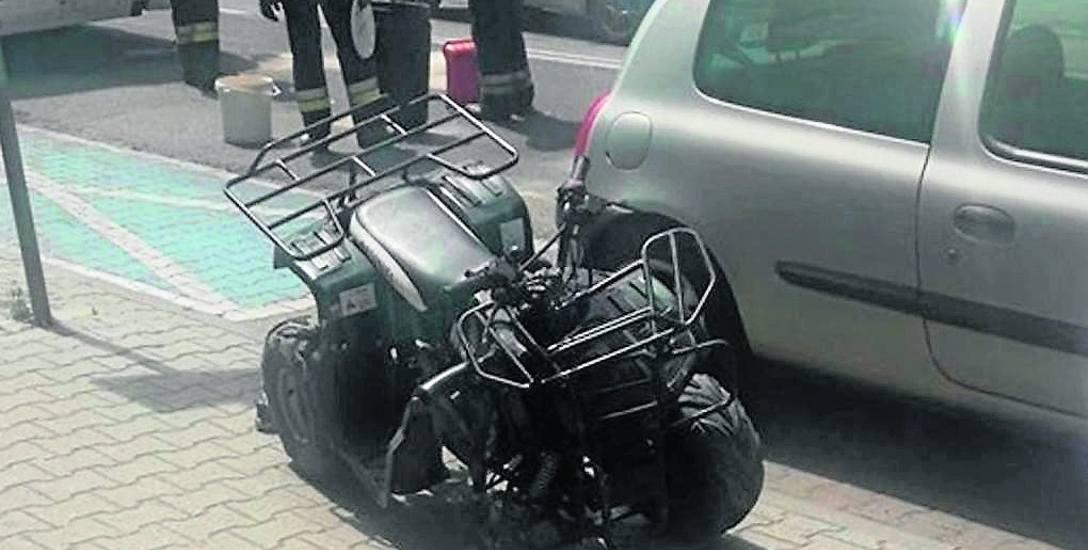 Zderzenie 8-latka na quadzie z autobusem miało miejsce w niedzielę w Siemianowicach Śl.