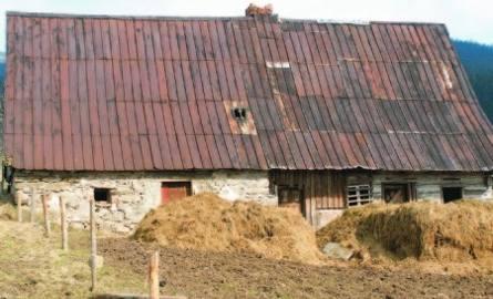 Stary dom w Jodłowie