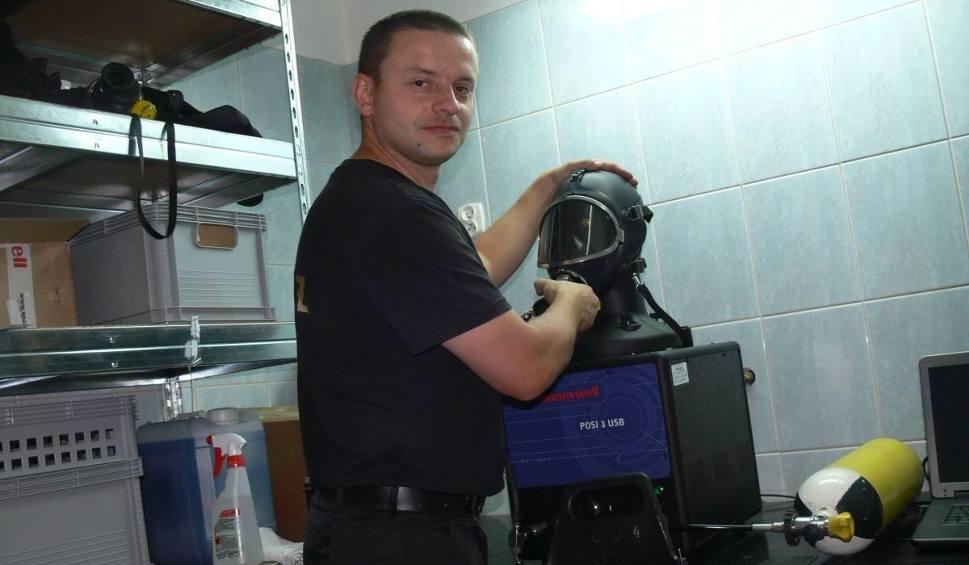 Film do artykułu: Cenny sprzęt trafił do Komendy Miejskiej Państwowej Straży Pożarnej w Tarnobrzegu