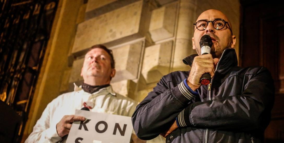Radomir Szumełda: W protestujących wstąpiła niewiara, ale swój manifest wyrażą przy urnach