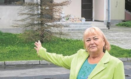 Anna Jeleń - Gorgoy obawia się, że rodzice, którzy będą dowozić dzieci do przedszkola, zablokują ul. Wacława II i wjazd do jej posesji
