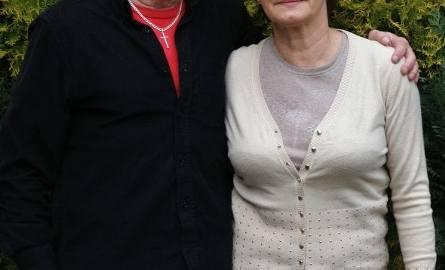 Roman Gotfryd ze swoją ukochaną żoną Krystyną. 8 kwietnia obchodzili 42 rocznicę ślubu.