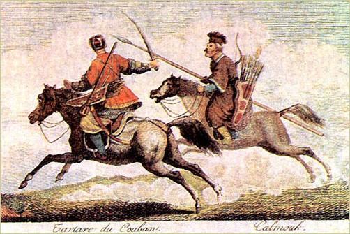 Tatarzy na XVIII-wiecznym obrazie