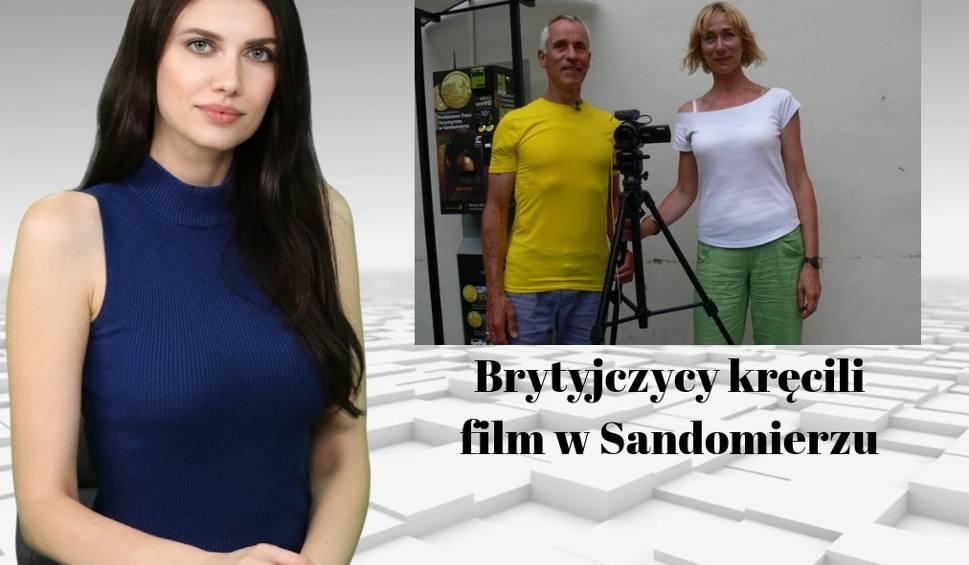 Film do artykułu: Brytyjscy filmowcy w Sandomierzu. Co kręcili? WIADOMOŚCI