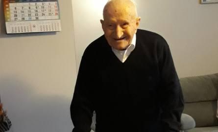 Józef Woźniak skończył 106 lat! To najstarszy mieszkaniec pow. łaskiego