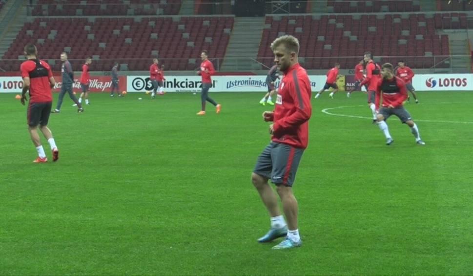 Film do artykułu: Przed meczem Szkocja - Polska. Piłkarze ćwiczyli na Stadionie Narodowym