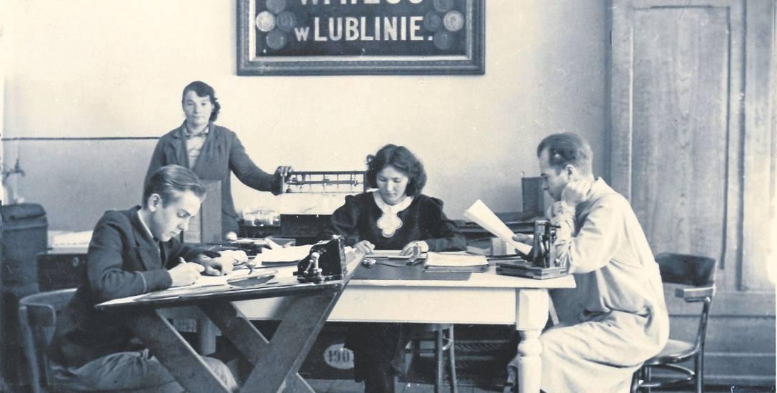 Biura fabryki przy ulicy Lubartowskiej