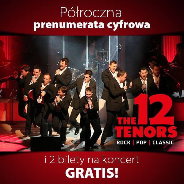 "Bilety na koncert grupy ""The 12 Tenors"" 25.04.2019"