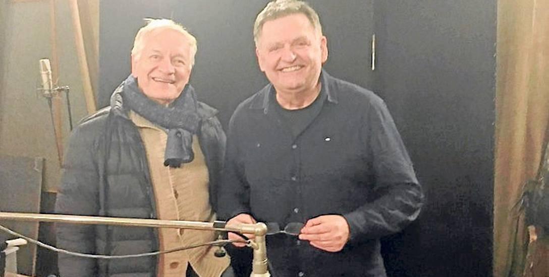 Wiesław Romanowski i Andrzej Seweryn. - Z panem Andrzejem pracowało się fantastycznie - mówi koszalinianin