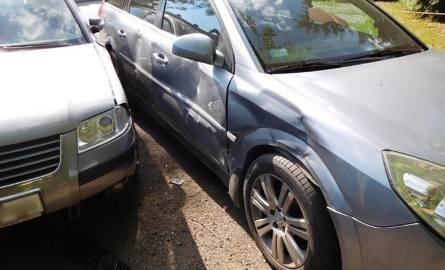 W Krośnie uszkodzonych zostało aż 5 samochodów