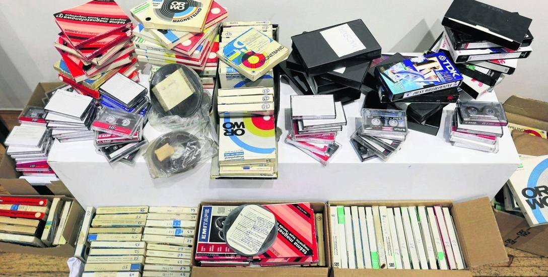 Na zdigitalizowanie czeka m.in. 100 filmów i 200 nagrań muzycznych, 2000 archiwalnych zdjęć, 1000 obiektów piśmienniczych jak np. afisze, ulotki, pl