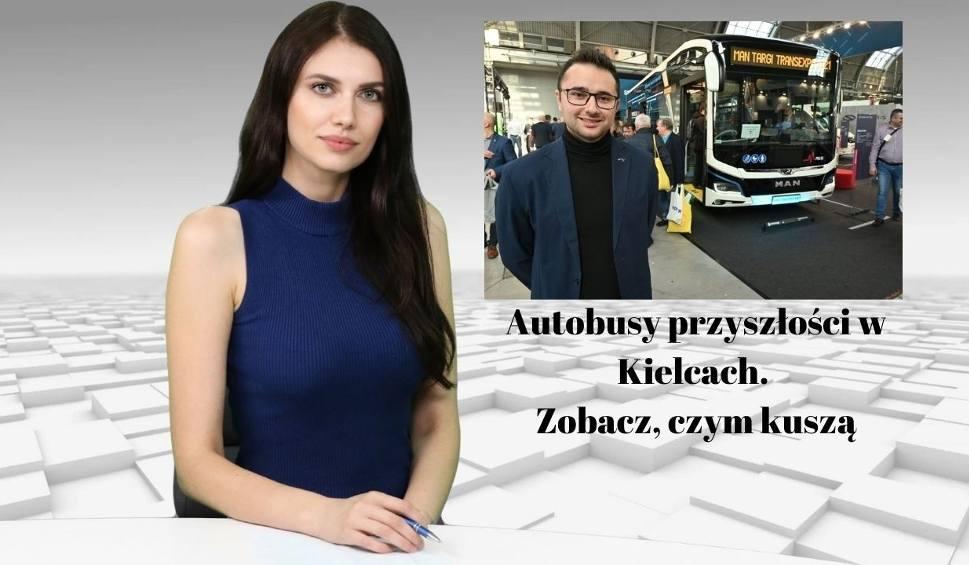 Film do artykułu: Wiadomości Echa Dnia. Autobusy przyszłości w Kielcach. Zobacz, czym kuszą