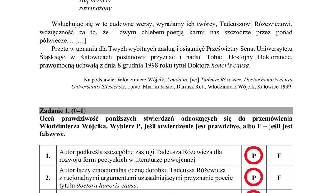 matura probna polski 2018 operon