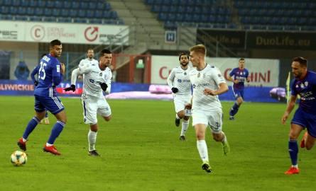 Mecz w Gliwicach okazał się kompromitacją piłkarzy Lecha.