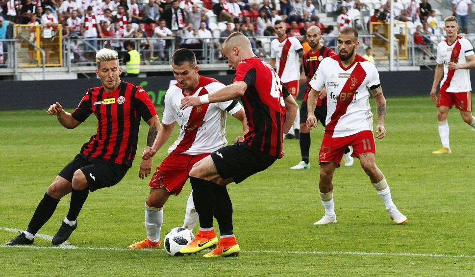 Film do artykułu: I liga piłki nożnej. Bytovia i Chojniczanka w roli faworytów