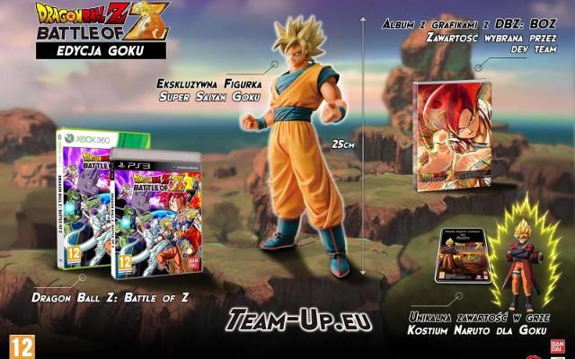 Dragon Ball Z: Battle of Z. Premiera dla fanów Goku (wideo)