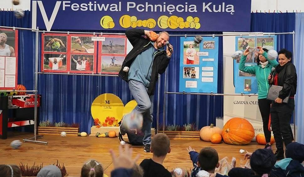 Film do artykułu: Festiwal Pchnięcia Kulą w Oleśnie. Gościem był Tomasz Majewski, dwukrotny mistrz olimpijski