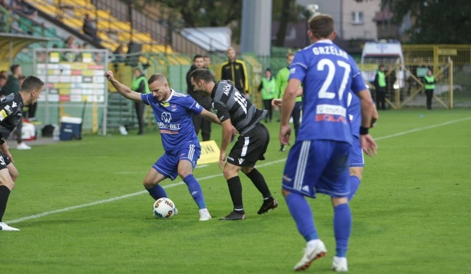 Film do artykułu: Fortuna 1 Liga. Bruk-Bet Termalica i Puszcza Niepołomice podzieliły się punktami. Błyskawiczny gol Gutkovskisa