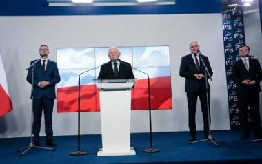 """Zjednoczona Prawica z nową umową koalicyjną. Kaczyński: """"Nasze porozumienie jest gwarancją poprawy losu Polaków"""""""