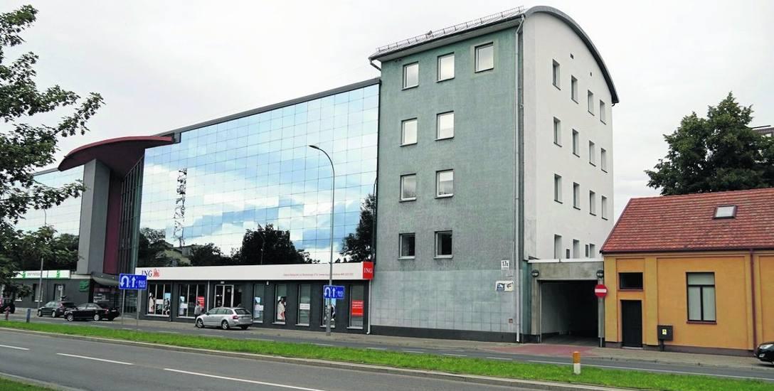 Budynki dawnej fabryki rodziny Polaków współcześnie