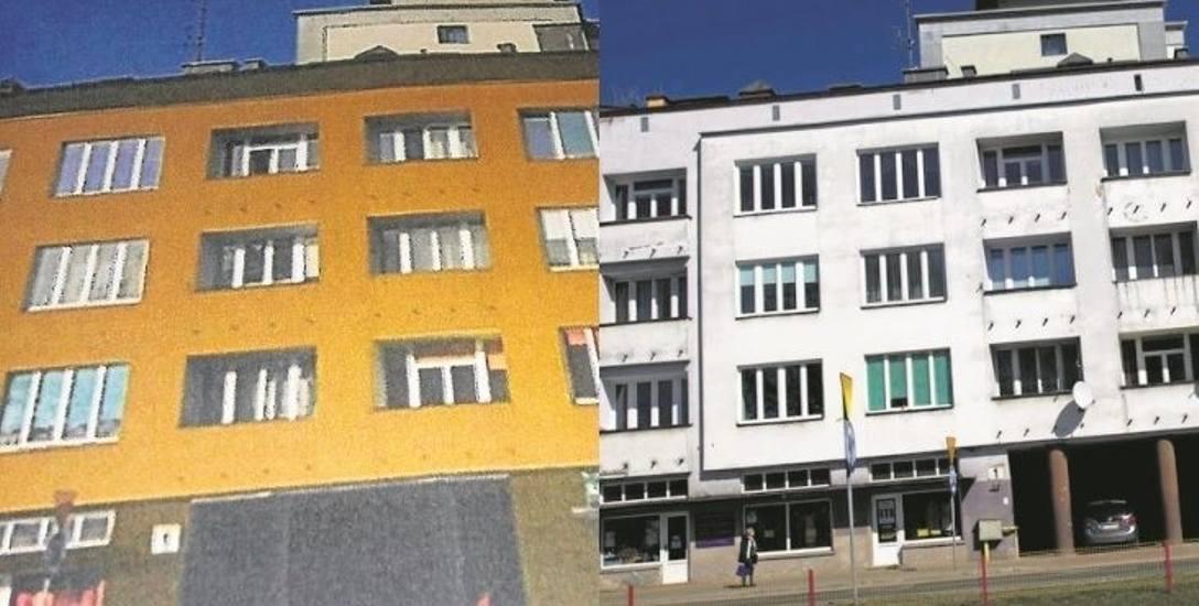 Kamienica przy ul. Branickiego. Modernizm był kolorowy. Jak przy ul. Branickiego 1