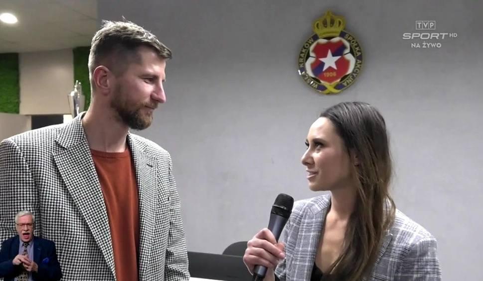 Film do artykułu: Wisła Kraków. Prezes Rafał Wisłocki o Jarosławie Królewskim: To wszystko, co dzieje się z klubem, jest jego zasługą