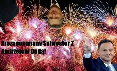 Sylwester z Andrzejem Dudą najlepszą imprezą tego roku! Kto przyjdzie? [MEMY, NAJLEPSZE WPISY]