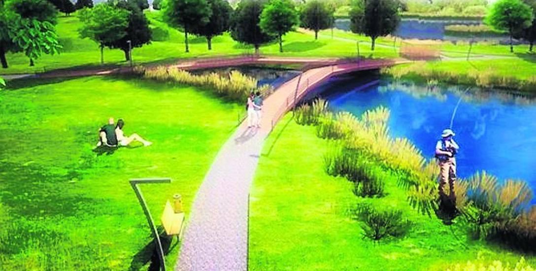 Park Akademicki ma składać się z dwóch części. W jednej będzie można odpoczywać, w drugiej uprawiać sport.