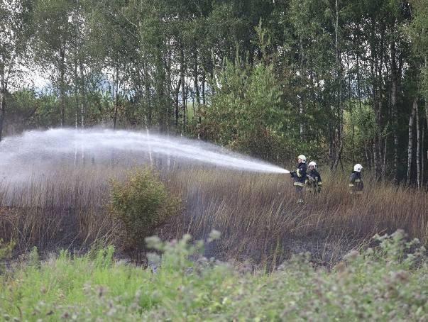 Pożar w Łodzi! Pali się na Strykowskiej! Na miejscu jedenaście zastępów straży pożarnej. ZDJĘCIA