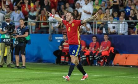 Saul Niguez, bohater półfinału Hiszpania - Włochy w Krakowie