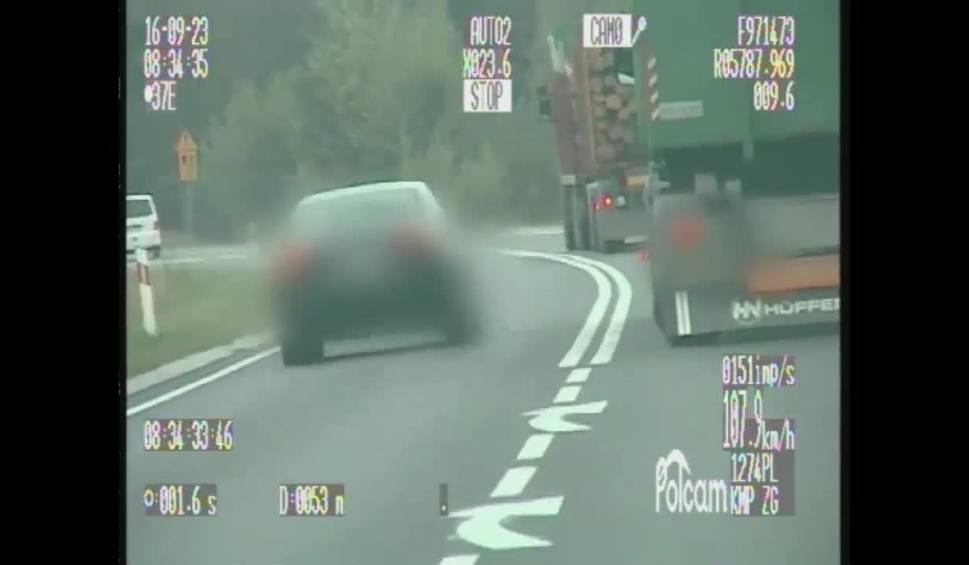 Film do artykułu: Kierowca audi dostał 17 punktów karnych i 500 zł mandatu [WIDEO]