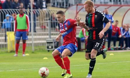 Raków dwa razy prowadził z GKS Tychy, ale ostatecznie mecz w Częstochowie zakończył się remisem