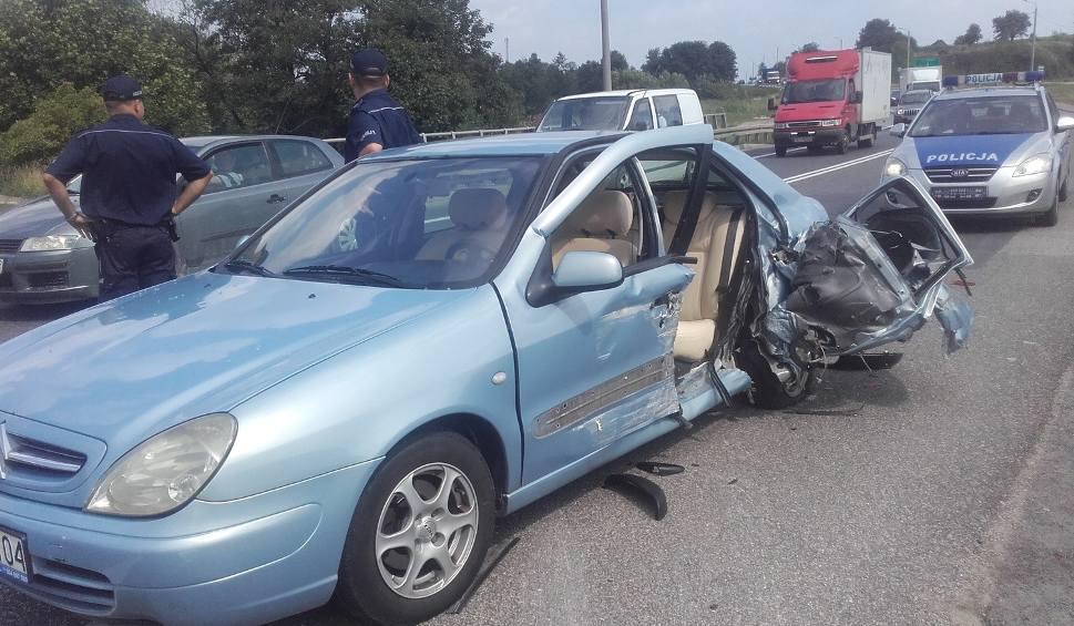 Film do artykułu: Wypadek w Górnie. Jedna osoba w szpitalu