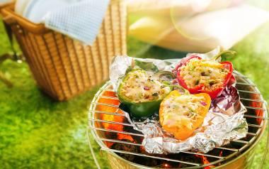 Grillując warzywa, pamiętajmy o tym, by nie za długo trzymać je na ruszcie
