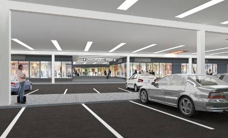 PKP zbudują nowy dworzec i galerię handlową (WIZUALIZACJE)