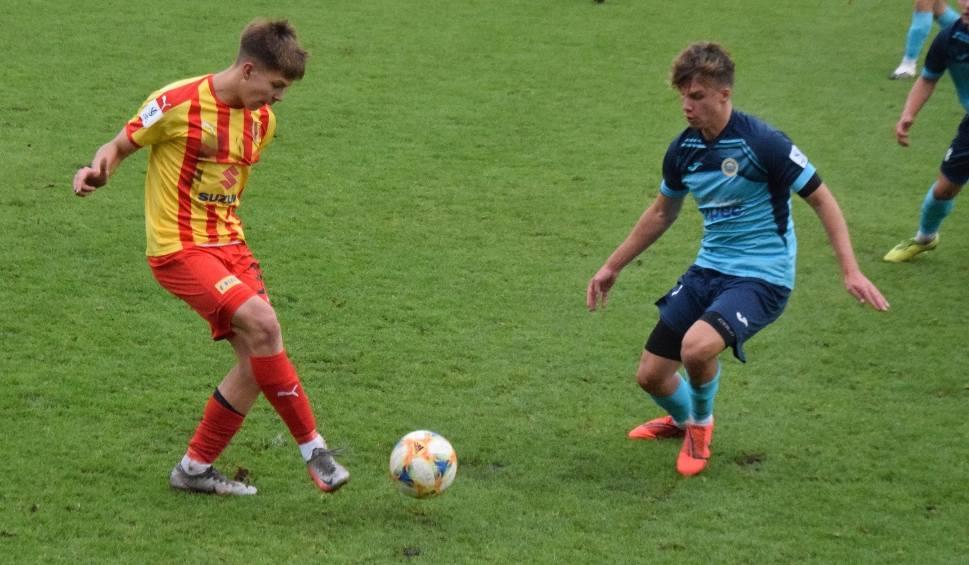 Film do artykułu: Centralna Liga Juniorów u18. Korona Kielce podzieliła się punktami z Hutnikiem Kraków. Trener: Ten remis jest jak porażka (WIDEO, ZDJĘCIA)