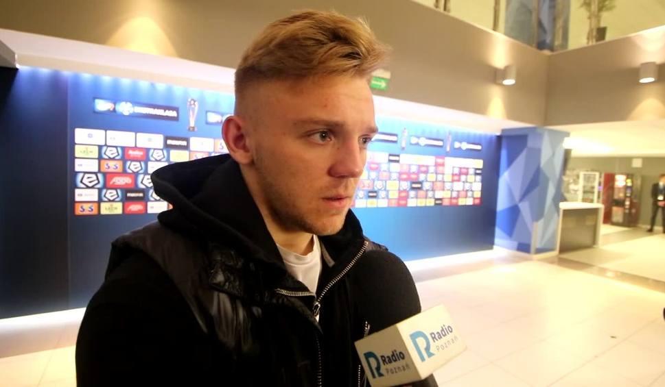 Film do artykułu: Kamil Jóźwiak po meczu Lech - Arka: Musimy wiele poprawić