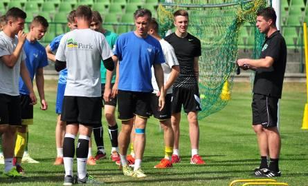 We wtorek piłkarze drugoligowej Siarki Tarnobrzeg trenowali na murawie Stadionu Miejskiego.