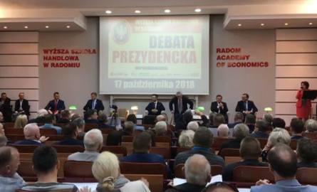 Debata Prezydencka w Radomiu [ZOBACZ ZAPIS TRANSMISJI]