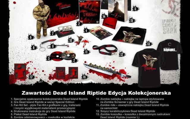 Dead Island Riptide: Edycja Kolekcjonerska z zombie