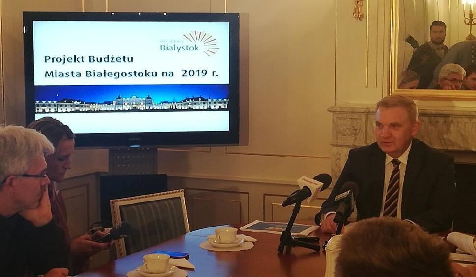 Film do artykułu: Budżet Białegostoku 2019. Prezydent Tadeusz Truskolaski: To w dalszym ciągu rozpędzony pociąg (zdjęcia, wideo)