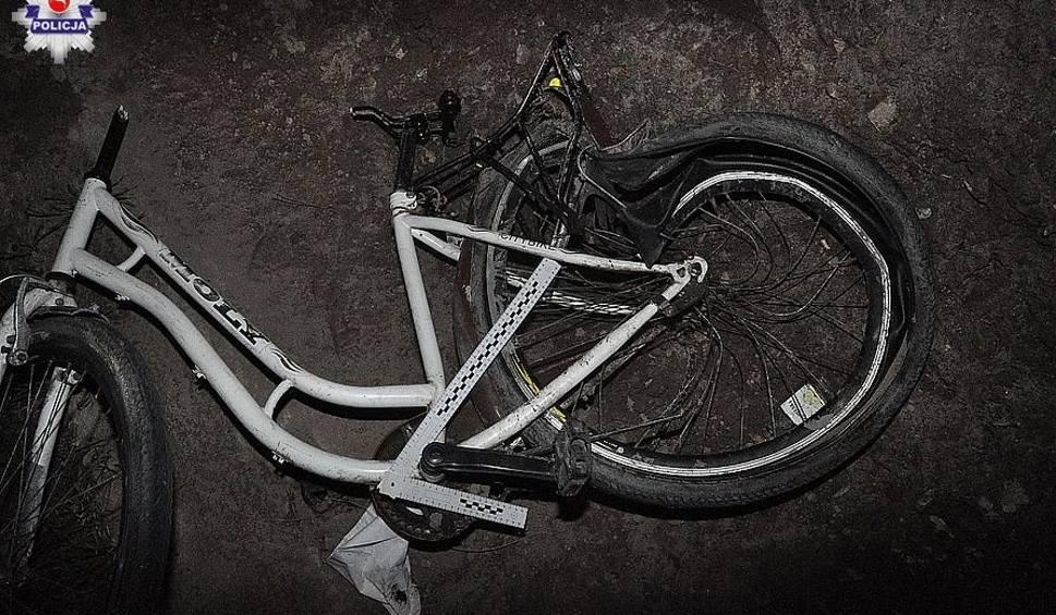 Film do artykułu: Potrącenie rowerzystki w Woli Piaseckiej. Policja szuka świadków wypadku