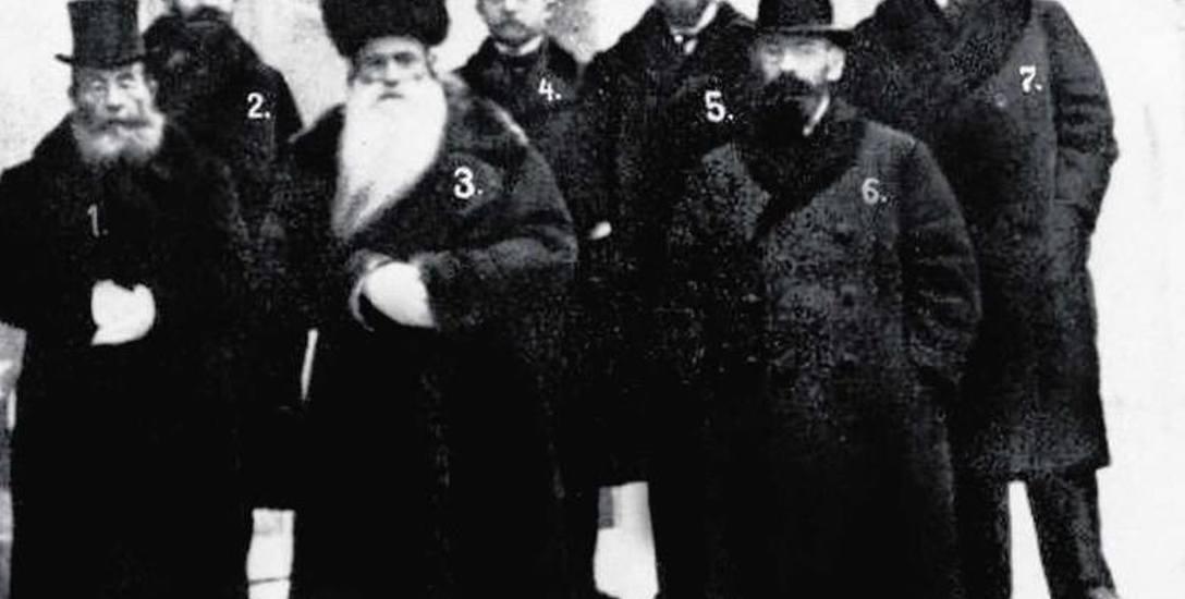 Posłowie na Sejm Ustawodawczy: 1. Mojżesz Eliasz Halpern, 2. Noach Pryłucki, 3. rabin Abraham Perlmutter, 4. Salomon Weinzieher, 5. Icchak Grunbaum,