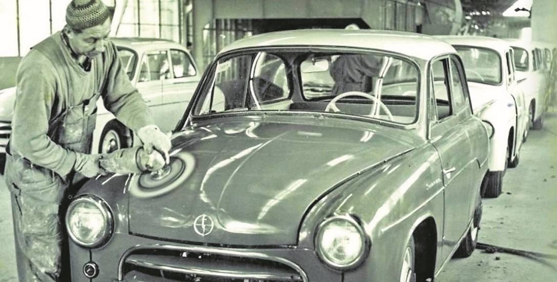 Produkcja Syreny w Fabryce Samochodów Osobowych w Warszawie
